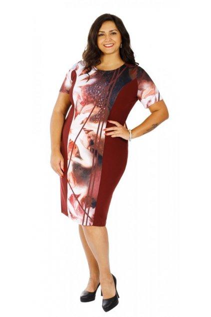MIRAVA -  šaty s krátkým rukávem