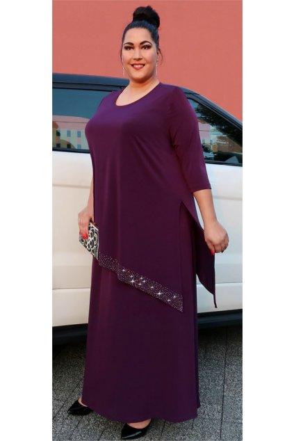 Elizabet - společenské šaty vrstvené 110 - 115