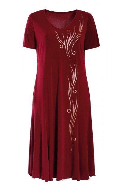 MÁJA - šaty s krátkým rukávem 110 - 115 cm