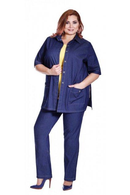 MÁRO - jeansové kalhoty v délce 103 - 108 cm