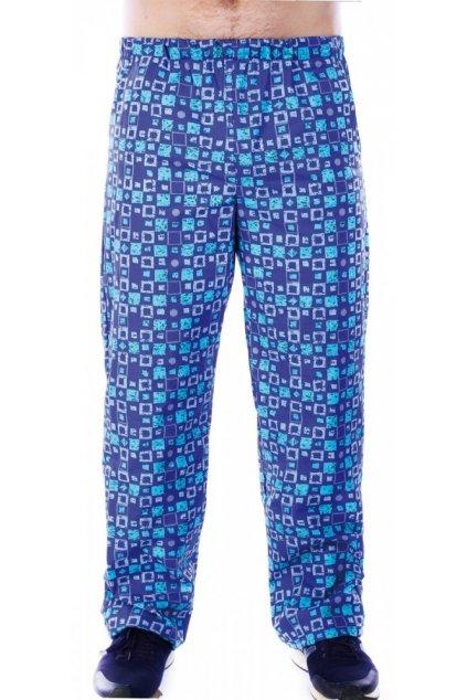 Pánské domáky - kalhoty modrá