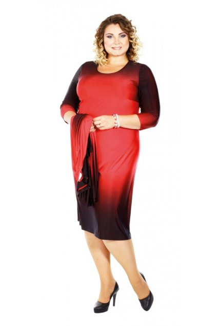 MENY - šaty s 3/4 rukávem 110 - 115 cm
