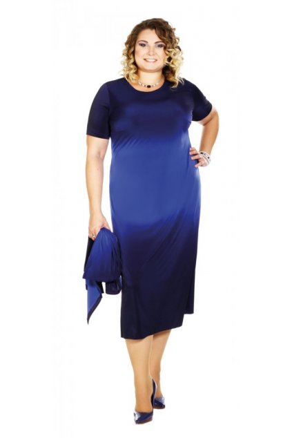 MENY - šaty s krátkým rukávem 110 - 115 cm