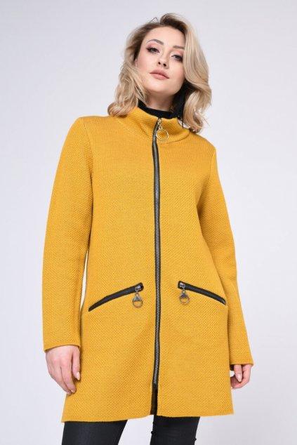 Módní dámský kabát, model 140442 Vitesi