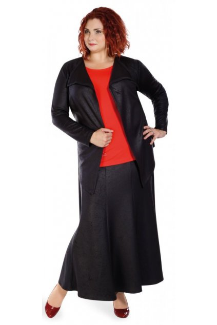 SUKNĚ textilní kůže - dílová sukně 3 délky
