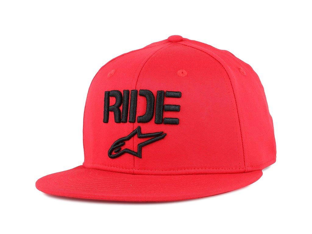 Pánská červená kšiltovka RIDE FLAT HAT Alpinestars 1016-81024 30-M