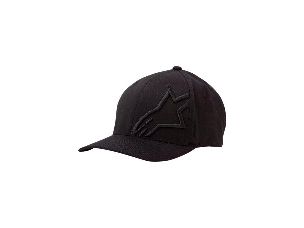 Pánská černá kšiltovka CORP SHIFT 2 FLEXFIT Alpinestars 1032-81008 1010-M