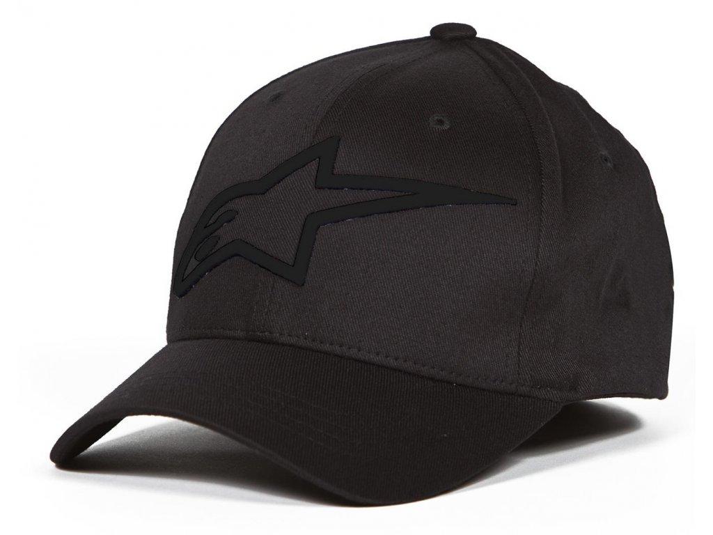 Pánská černá kšiltovka LOGO ASTAR Alpinestars 1039-81003 1010-M