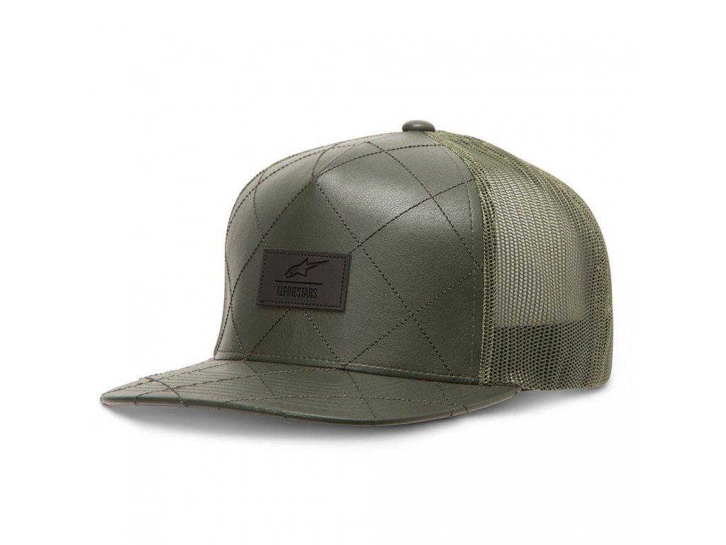 Pánská zelená kšiltovka CRISS HAT Alpinestars 1036-81003 69