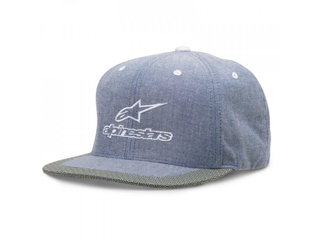 Pánská modrá kšiltovka PLATFORM HAT Alpinestars 1036-81004 72