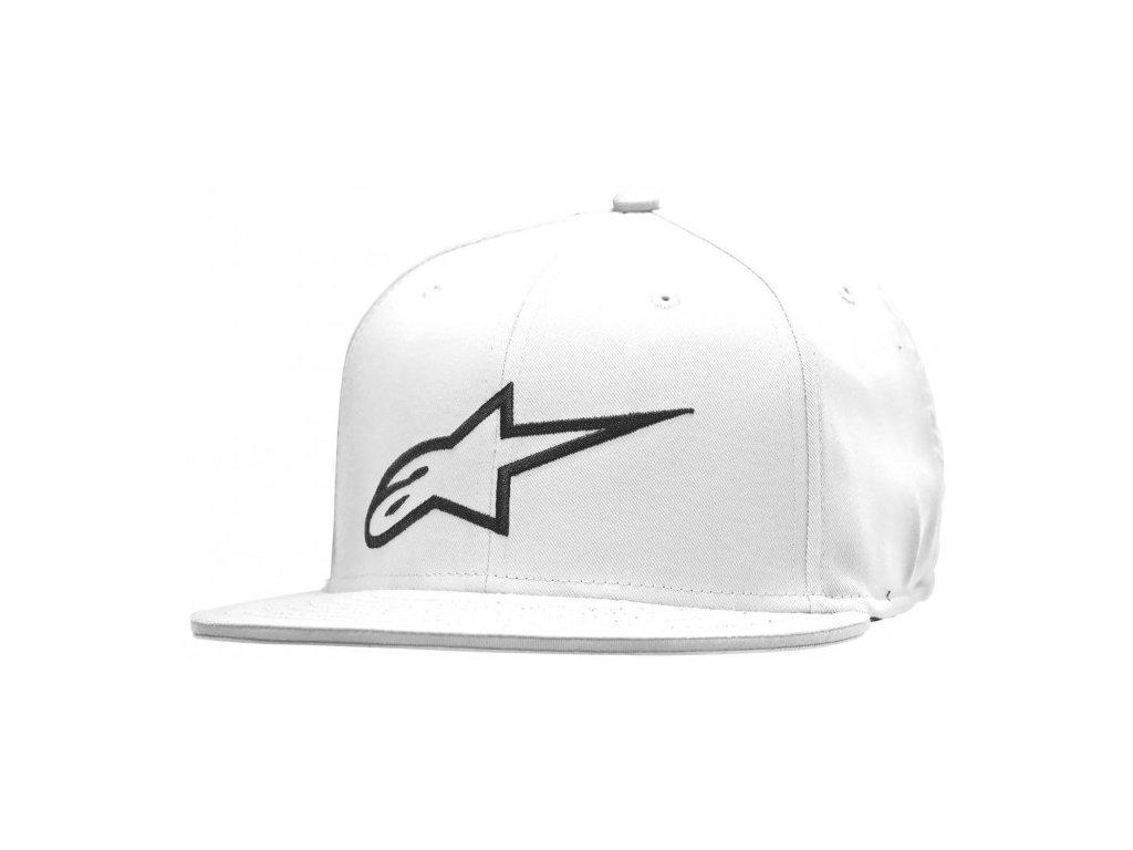 Pánská bílá kšiltovka AGELESS FLAT HAT Alpinestars 1035-81015 20-M