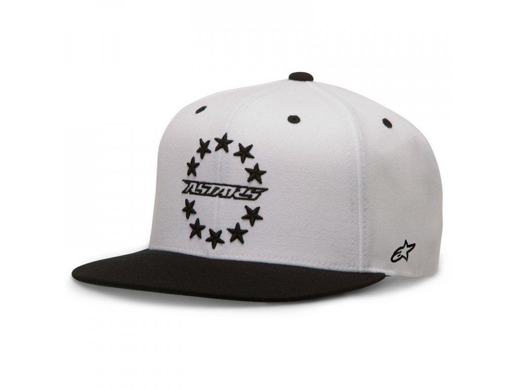 Pánská bílá kšiltovka ACE HAT Alpinestars 1036-81021 20