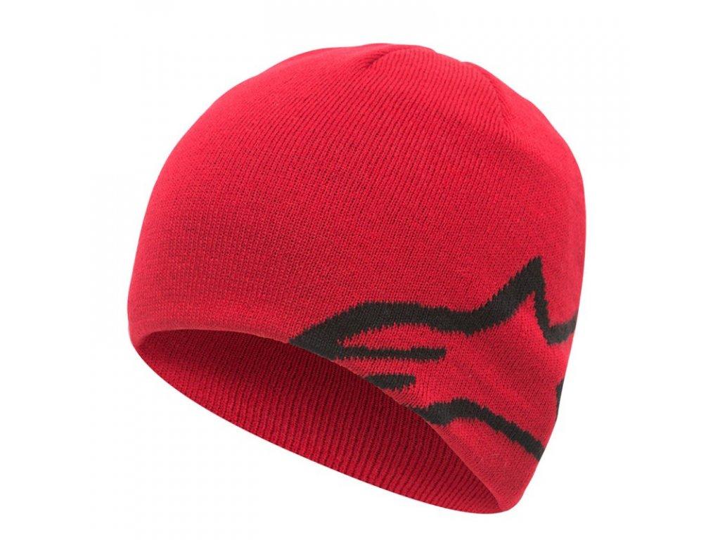 Čepice červená CORP SHIFT BEANIE Alpinestars 1036-81023 30
