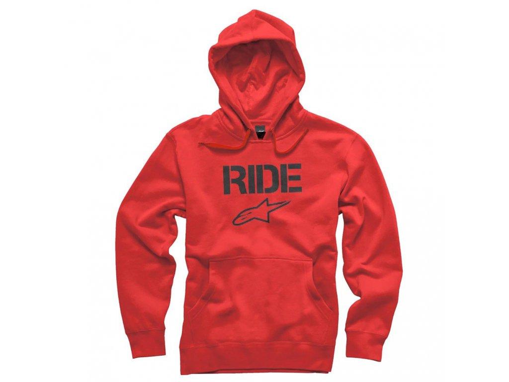 Pánská červená mikina RIDE PULLOVER Alpinestars 1036-52002 308