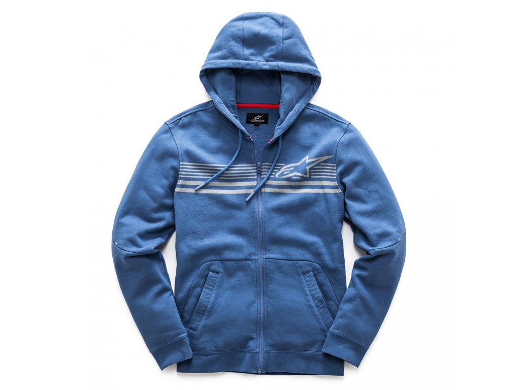 Pánská modrá mikina DYNAMIC FLEECE Alpinestars 1017-53001 72