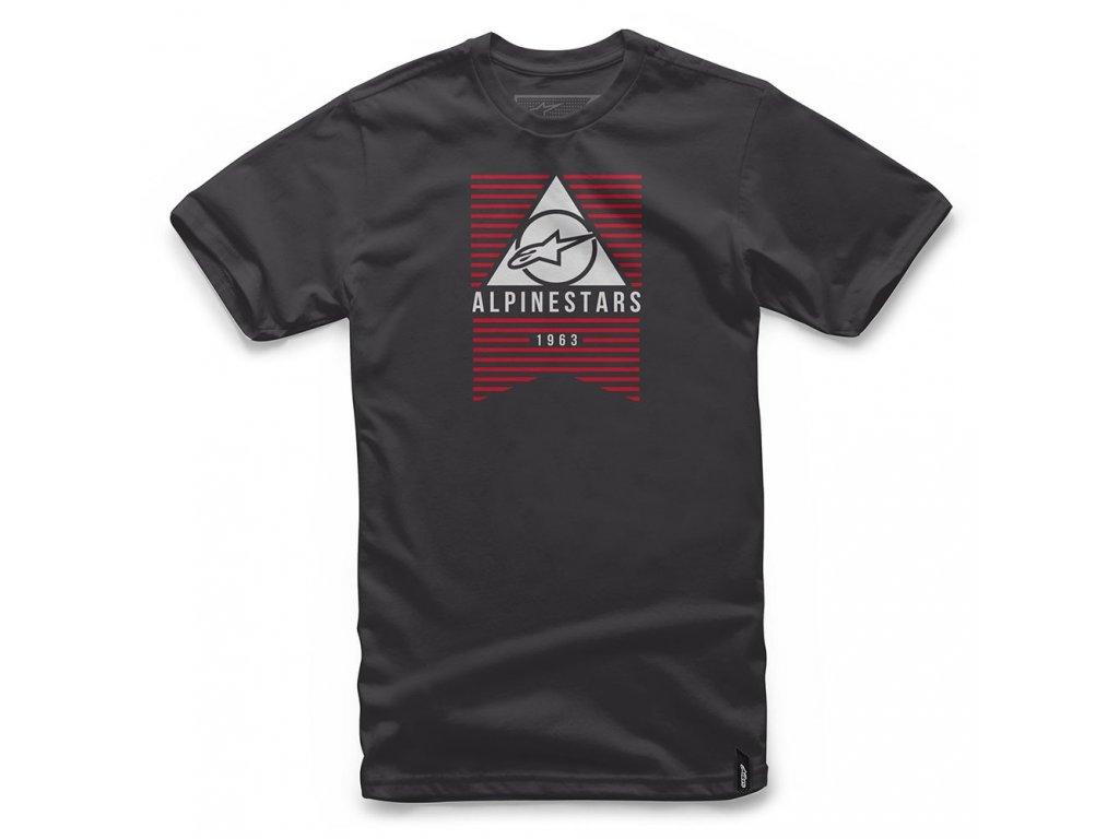 Pánské černé tričko AWAKENS TEE Alpinestars krátké 1017-72010 10