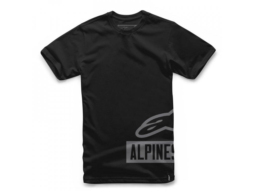 Pánské černé tričko TANK TEE Alpinestars krátké 1017-72000 10