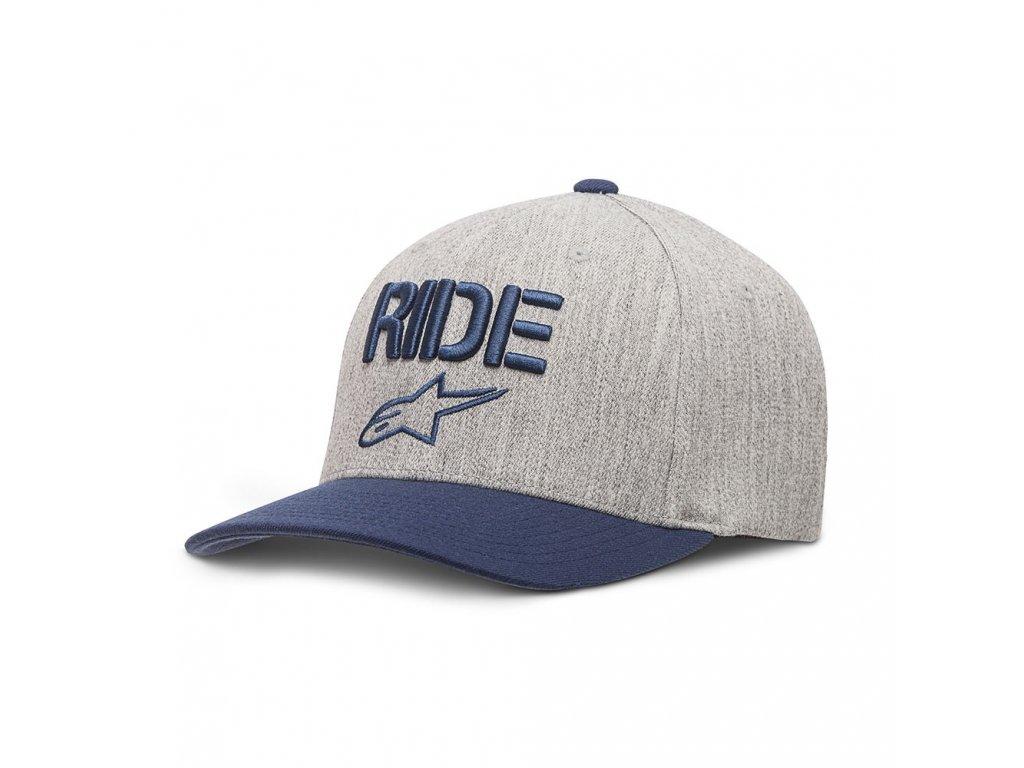 Pánská modrá kšiltovka RIDE CURVE HAT Alpinestars 1017-81008 70-M