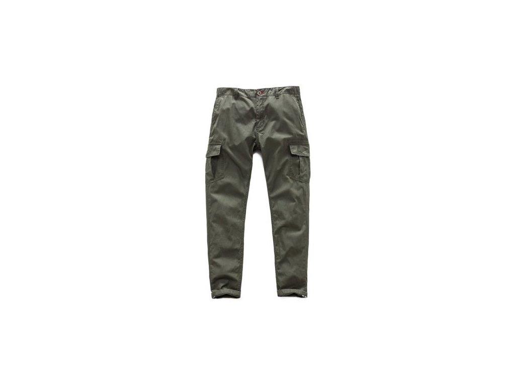 Pánské zelené kalhoty CONSTRUCTOR CHINO Alpinestars 1017-21003 690 - 32