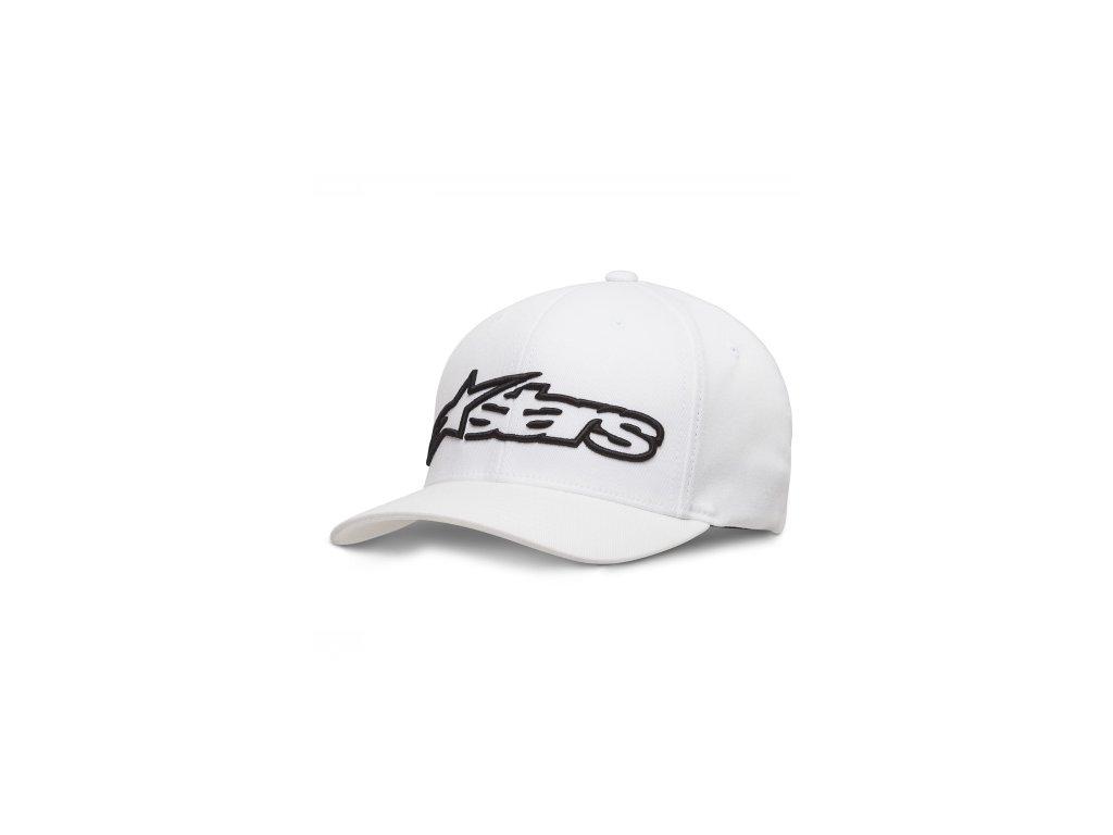 Pánská bílo-černá kšiltovka BLAZE HAT Alpinestars 1039-81005 2010-M