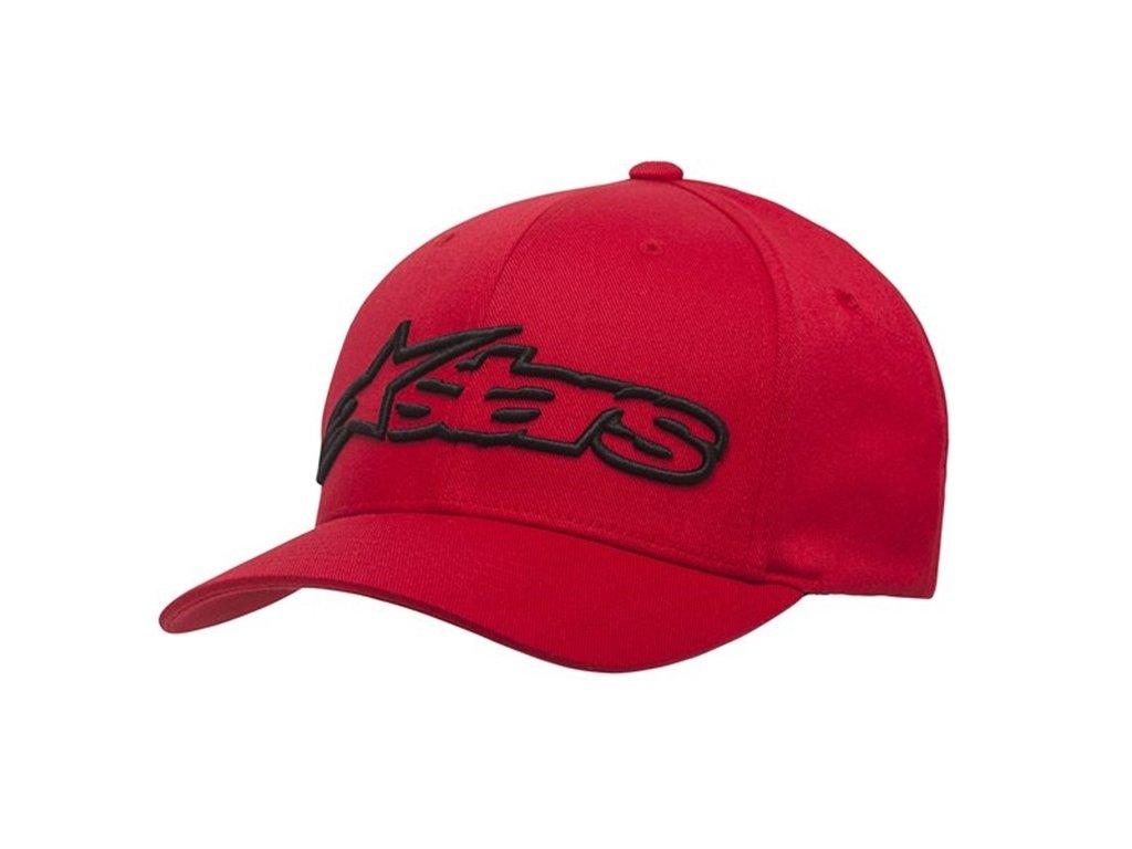 Pánská červeno-černá kšiltovka BLAZE HAT Alpinestars 1039-81005 3010-M