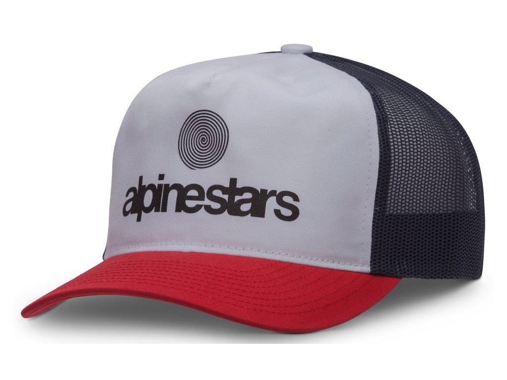 Pánská červená kšiltovka ORIGIN HAT Alpinestars 1037-81002 30