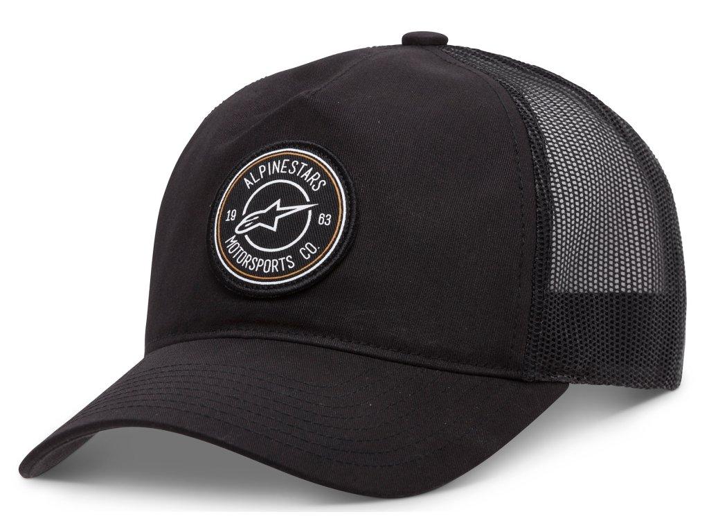 Pánská černá kšiltovka BULLSEYE HAT Alpinestars 1037-81024 10