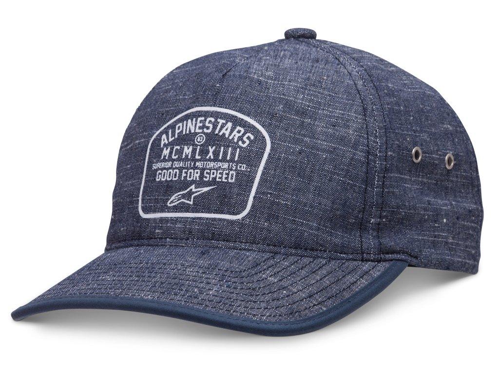 Pánská modrá kšiltovka KICKER HAT Alpinestars 1037-81005 72