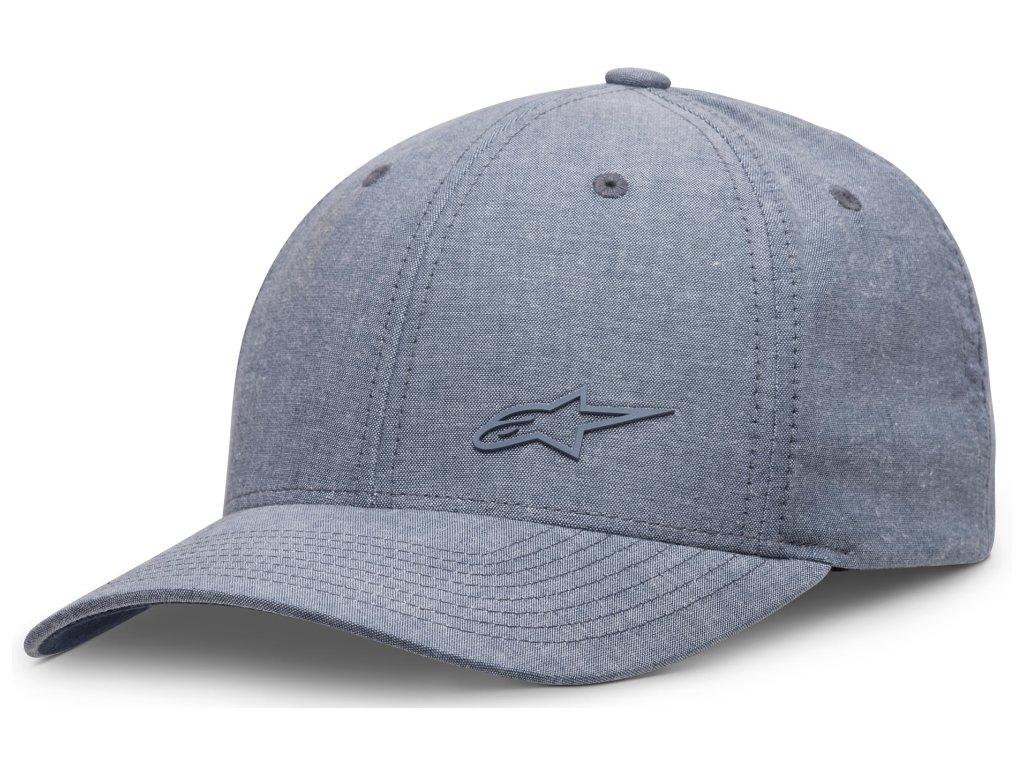 Pánská modrá kšiltovka VIA HAT Alpinestars 1037-81006 72
