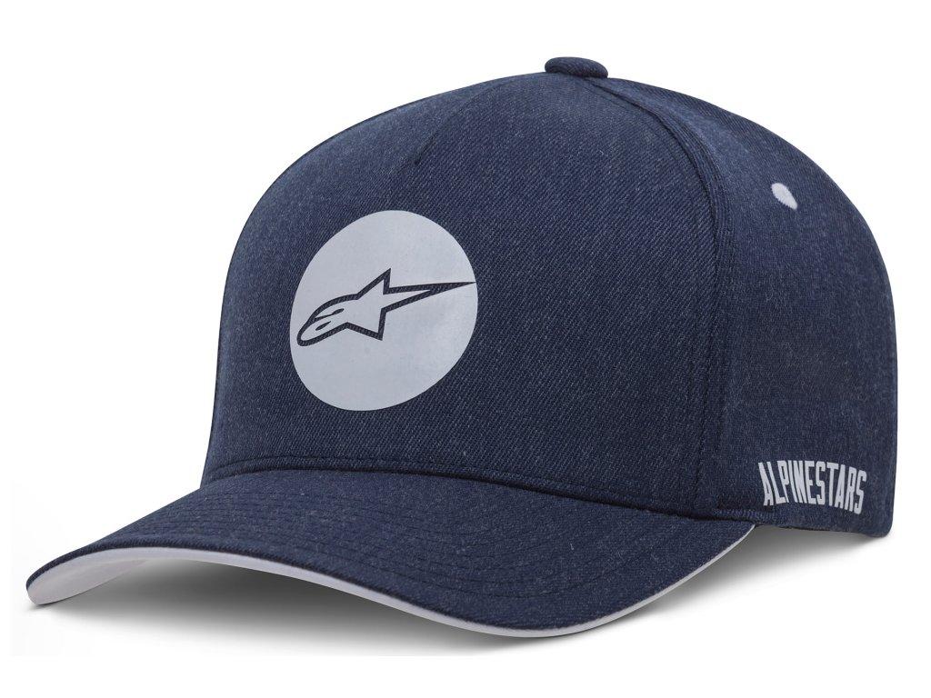Pánská modrá kšiltovka DOT HAT Alpinestars 1037-81008 7000-M