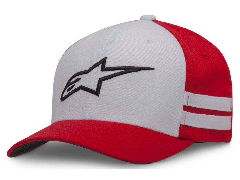 Pánská červená kšiltovka SIDELINE HAT Alpinestars 1037-81018 30-M
