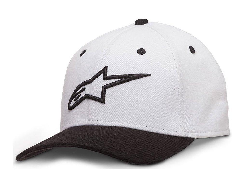 Pánská bílá kšiltovka AGELESS CURVE HAT Alpinestars 1017-81010 2010-M