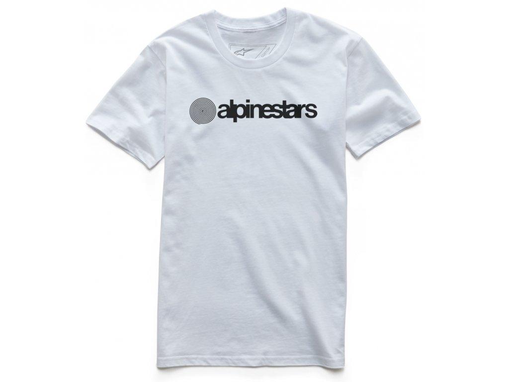 Pánské bílé tričko ORIGINAL PREMIUM TEE Alpinestars krátké 1037-72000 20
