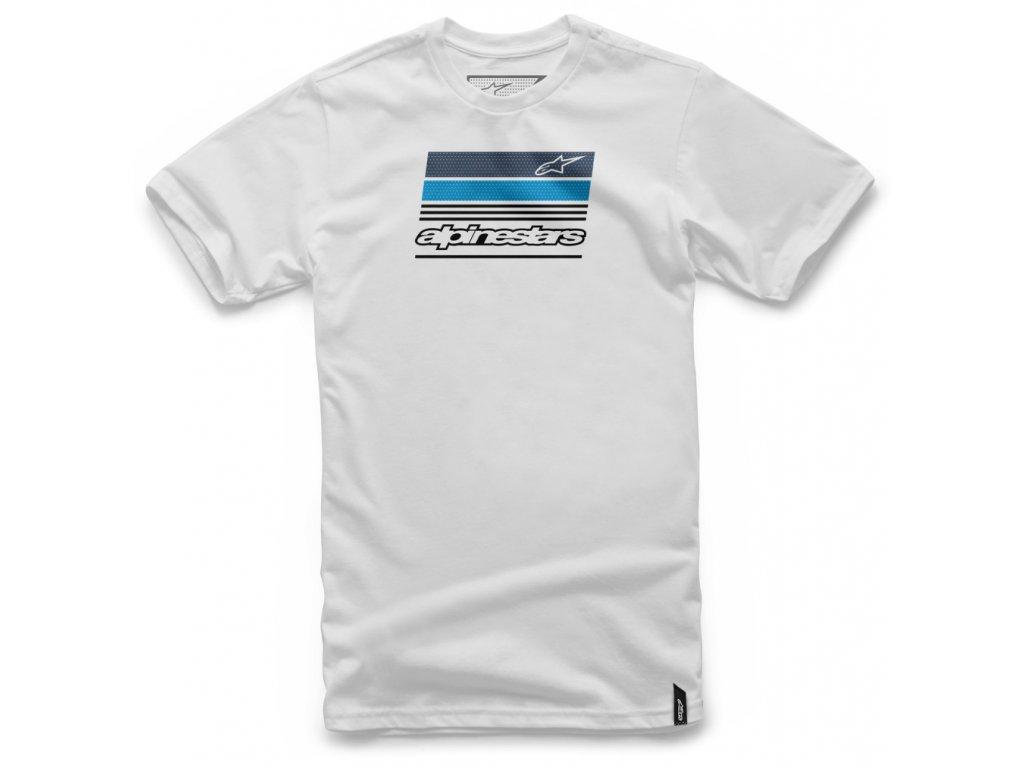 Pánské bílé tričko NEWS TEE Alpinestars krátké 1037-72054 20