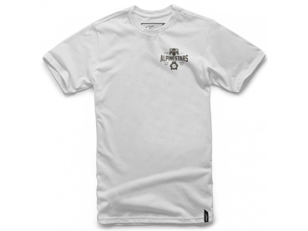 Pánské bílé tričko ANDRES TEE Alpinestars krátké 1037-72028 20