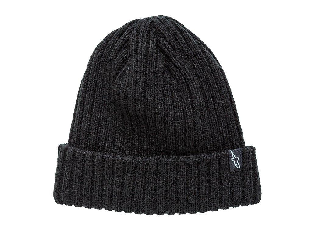 Čepice černá RECEIVING BEANIE Alpinestars 1037-81504 10