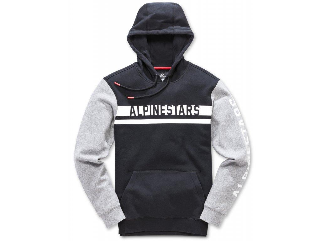 Pánská černá mikina COMPETITOR FLEECE Alpinestars 1018-51106 10