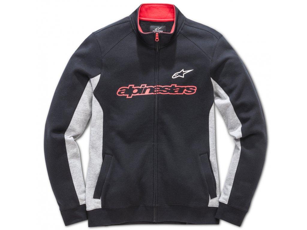 Pánská černá mikina CURB FLEECE Alpinestars 1018-53004 10