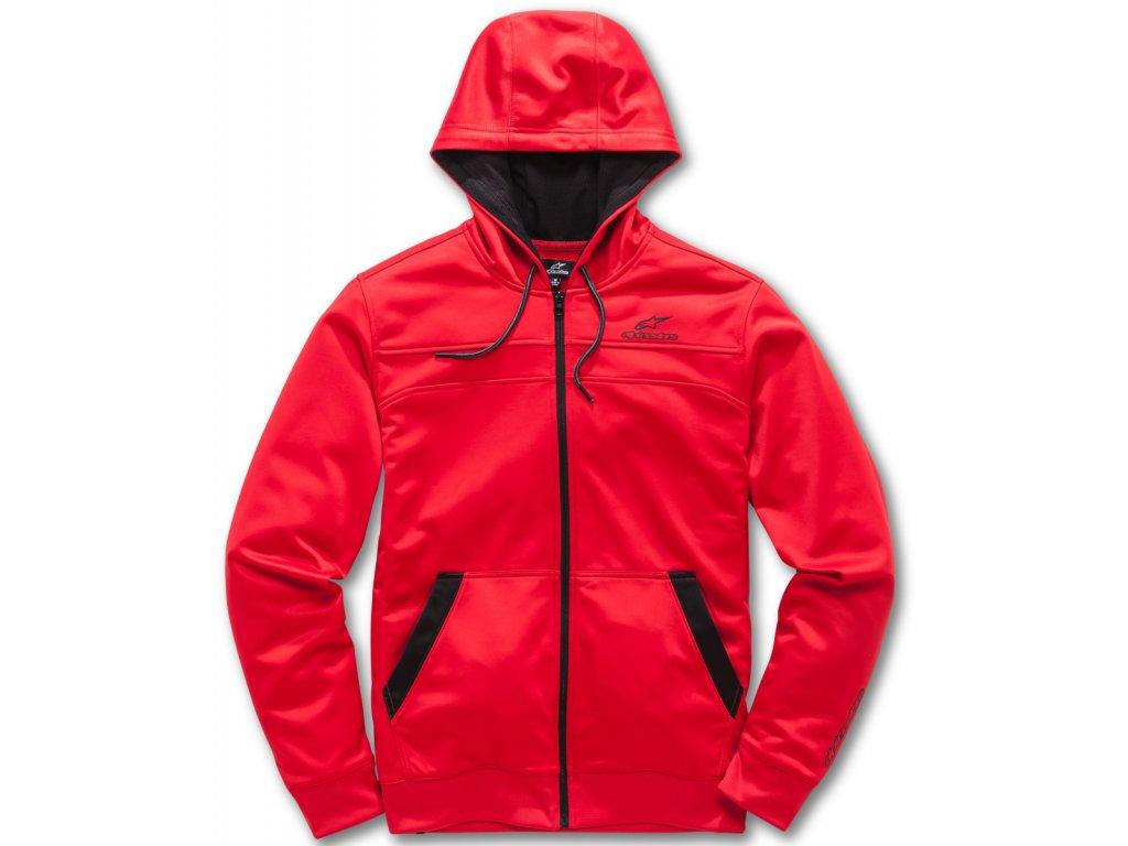 Pánská červená mikina FREERIDE FLEECE Alpinestars 1018-53010 30