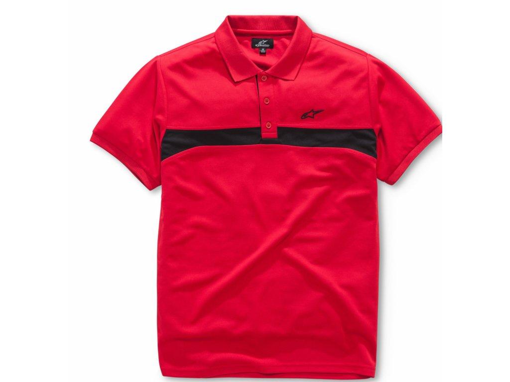 Pánské červené polo VICTORY Alpinestars 1018-41002 30