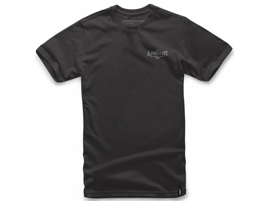 Pánské černé tričko RIDE ON TEE Alpinestars krátké 1018-72008 10
