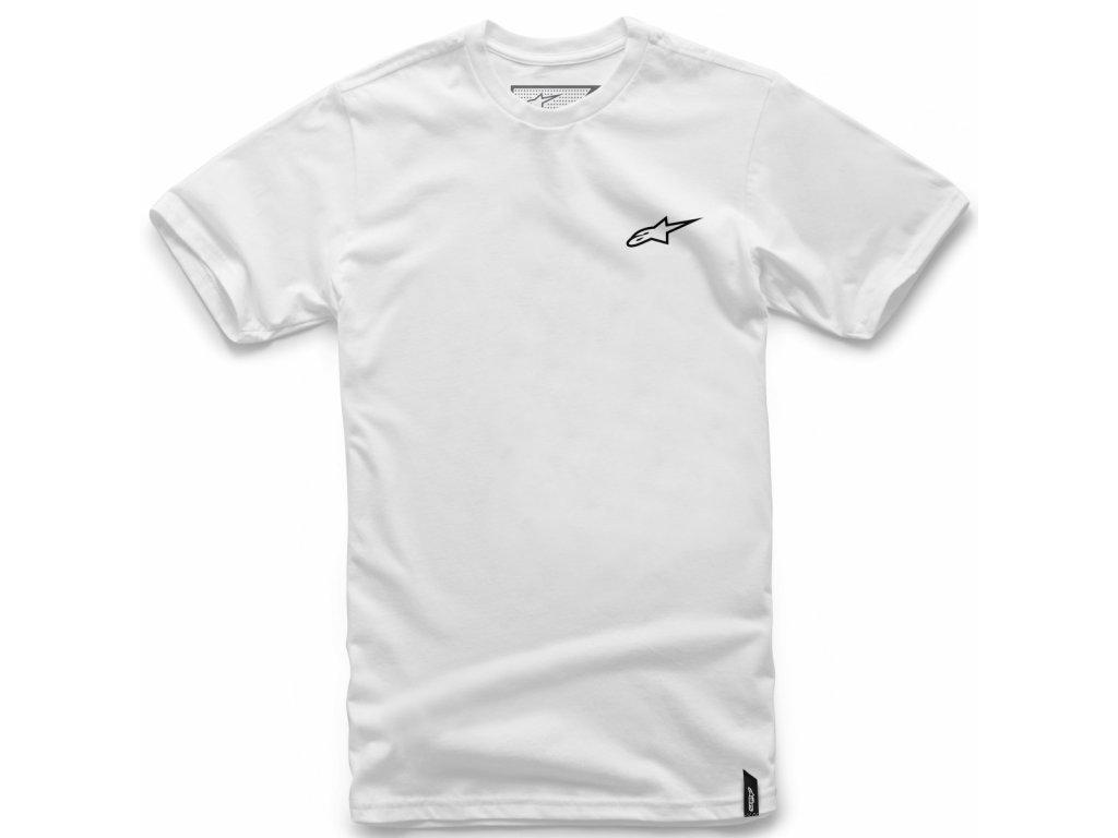 Pánské bílé tričko NEU AGELESS Alpinestars krátké 1018-72012 20