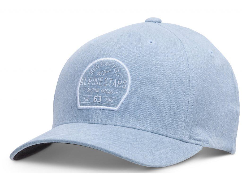 Pánská modrá kšiltovka TRIBUTE HAT Alpinestars 1018-81004 703-M