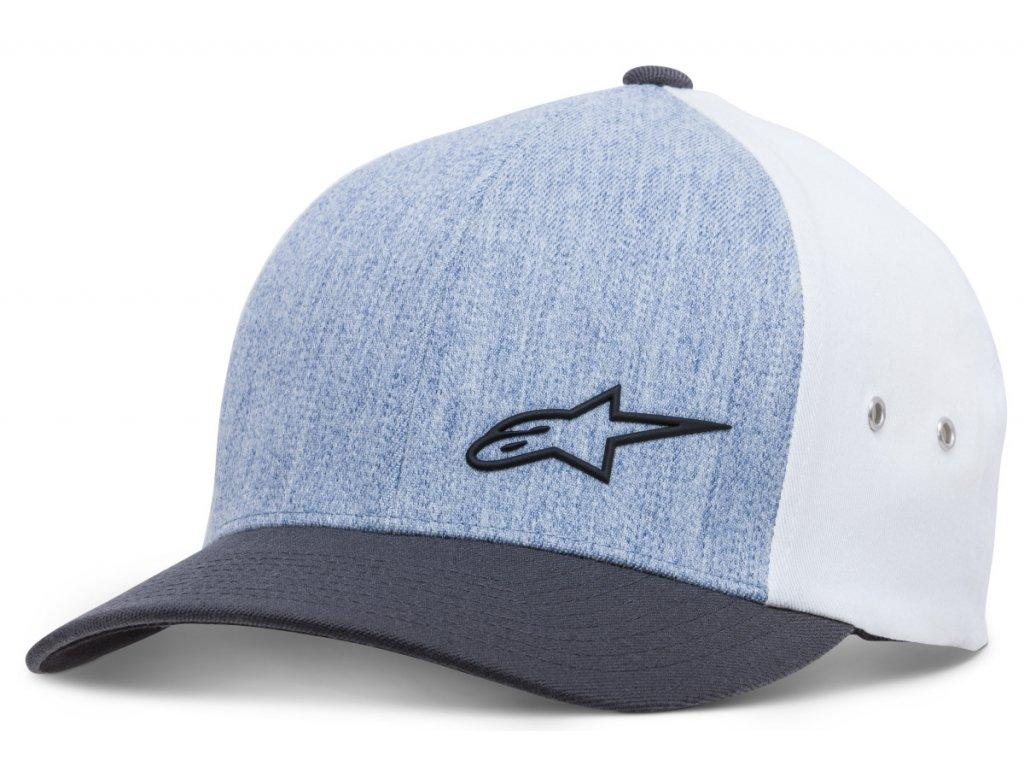Pánská modrá kšiltovka MOLDED HAT Alpinestars 1018-81008 703-M