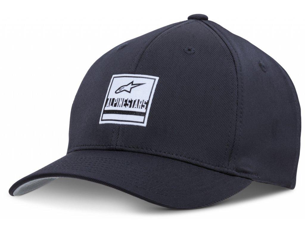 Pánská černá kšiltovka STATED HAT Alpinestars 1018-81009 10-M
