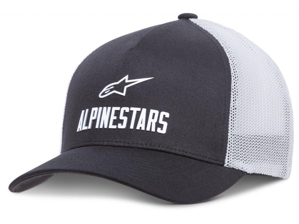 Pánská černá kšiltovka TRANSFER HAT Alpinestars 1018-81012 10-XL