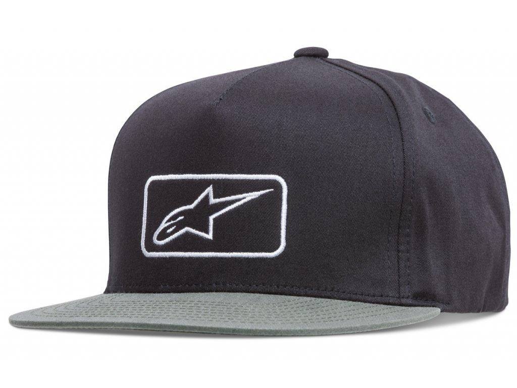 Pánská černá kšiltovka PLATE HAT Alpinestars 1018-81017 10