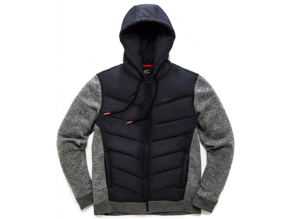 Pánská černá bunda BOOST QUILTED JACKET Alpinestars 1038-51010 10