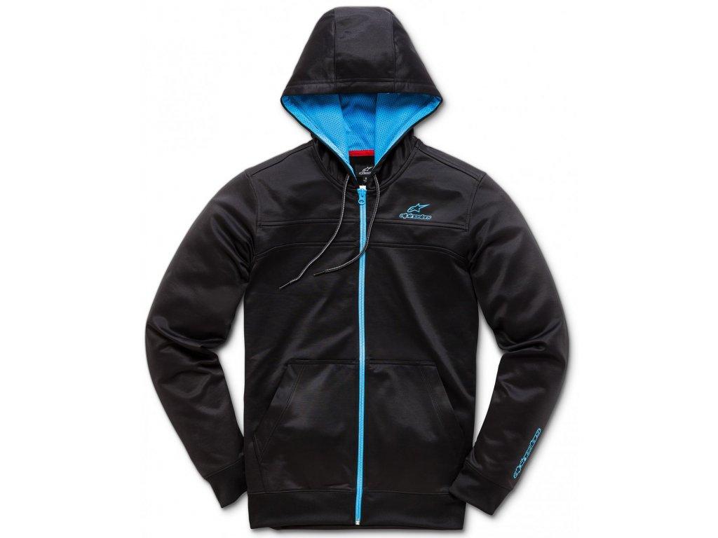 Pánská černo-modrá mikina FREERIDE FLEECE Alpinestars 1018-53010 1072