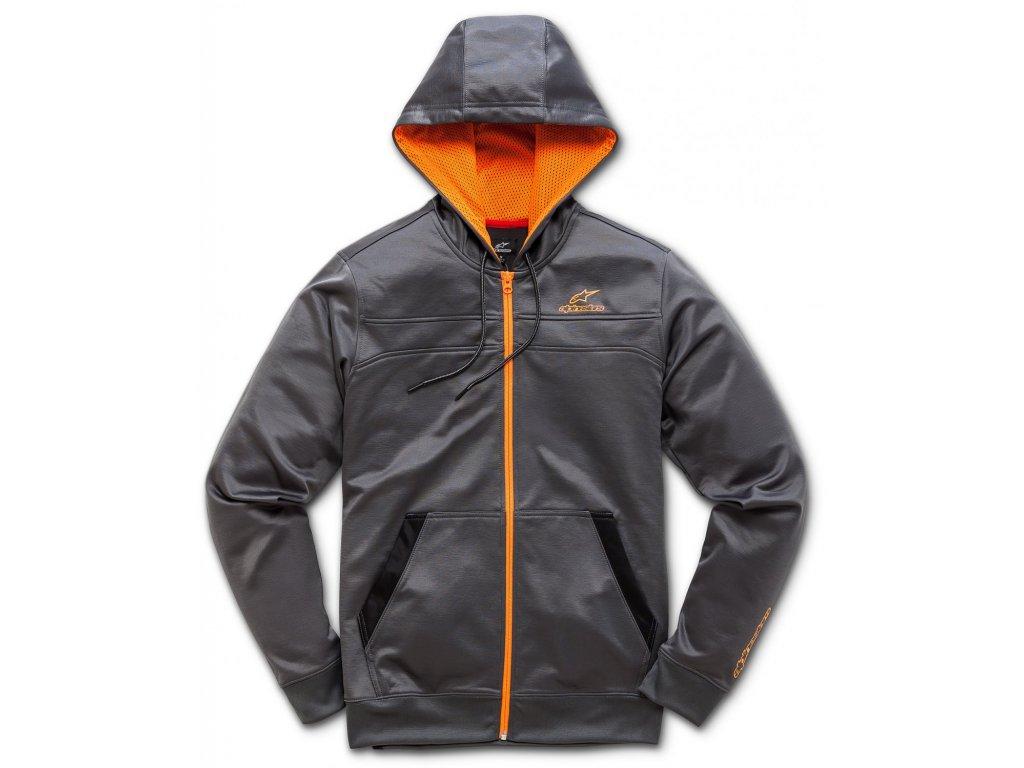 Pánská šedá mikina FREERIDE FLEECE Alpinestars 1018-53010 18